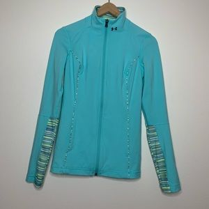 Under Armour | Zip Up Sweater | Blue | XS